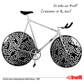 Cinelli - Laser interpreted by Keith Haring - 1987