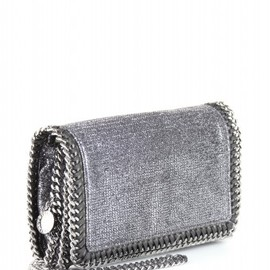 Stella McCartney - FALLABELLA LAMÉ CLUTCH
