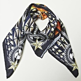 Givenchy by Riccardo Tisci  - screen printed Fazzoletti scarf