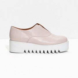& Other Stories - & Other Stories | Leather Flatforms