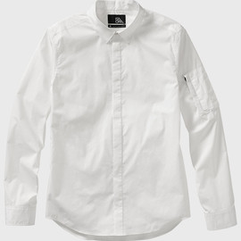 ISAORA - Stretch Button Down Shirt - White