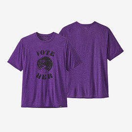 patagonia - Men's Capilene® Cool Daily Graphic Shirt - Vote Her: Purple X-Dye (VPUX)
