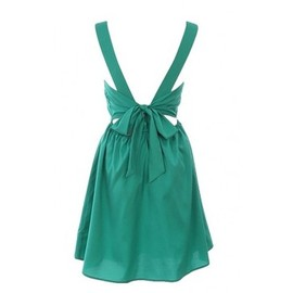 Open Tie Back Dress
