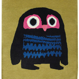 Chris Haughton, - A Bit Lost Owl Rug