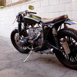 color operation - bmw cafe racer