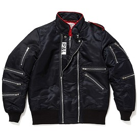 PEEL&LIFT - inspector jacket/BLACK