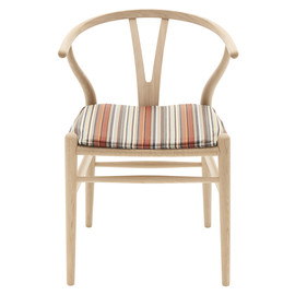 Paul Smith - CH24 Wishbone Chair upholstered in Stripes. Also main image
