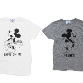 FUNDAMENTAL AGREEMENT LUXURY - [FUNDAMENTAL AGREEMENT LUXURY × the band apart]のDisney別注Tシャツ