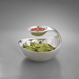 MyDesign for Nambe - Scoop Chip and Dip Server