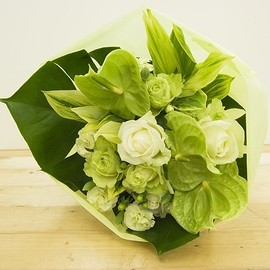 Flowers - Green Roses & Anthurium