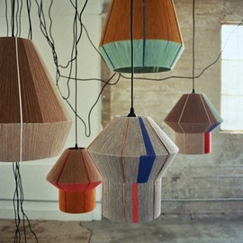 colourful light shades via ana kraš