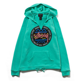 STUSSY WOMEN - V-Neck Sweatshirt