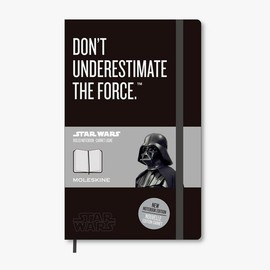 Moleskine - Limited Edition Star Wars Notebook - Don't Underestimate The Force (Large/Ruled)