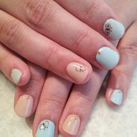 flowers - nail