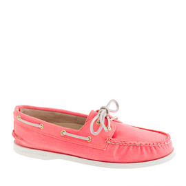 J.CREW - Sperry Top-Sider® for J.Crew Authentic Original 2-eye boat shoes in pastel