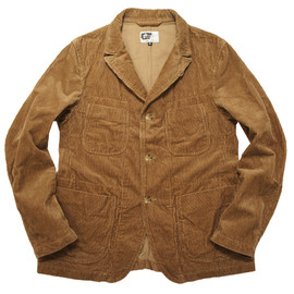 Engineered Garments - Unlined Bedford Jacket,Khaki Cotton Corduroy