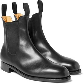 J.M. Weston - Leather Chelsea Boots