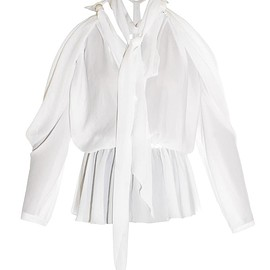 GIVENCHY - SS2015 Open-back blouse