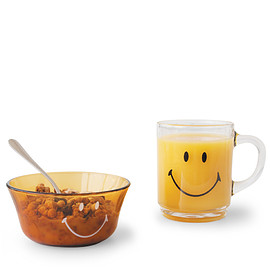 DURALEX, SMILEY FACE - VERSAILLES MUG SMILEY FACE 260cc CLEAR