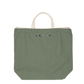 ENGINEERED GARMENTS - Carry All Tote w/Strap-Ripstop-Olive