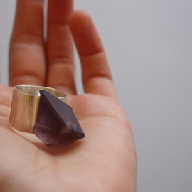 objects - AMETHYST RING