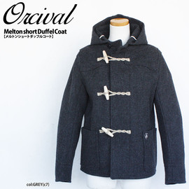ORCIVAL - short duffle coat