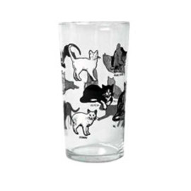 Fishes Eddy - Cats Glass 12.5 oz