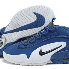 Mens Nike Penny 1 Blue/White/Black/Wolf Grey Shoes