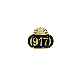 Call Me 917 - 917 Enamel Pin