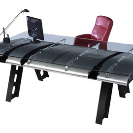 The MotoArt / C-130 Outer Flap Airplane Desk