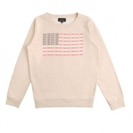 "A.P.C. - ""USA"" Sweat"