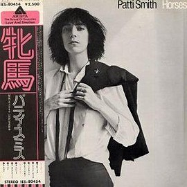 Patti Smith - Horses (vinyl,LP,JAPAN)