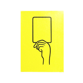 N store - YELLOW CARD(poster)
