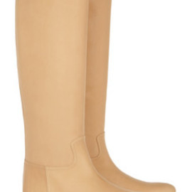 Bottega Veneta - Leather knee boots