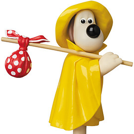 MEDICOM TOY - UDF Aardman Animations #2 RAIN COAT GROMIT