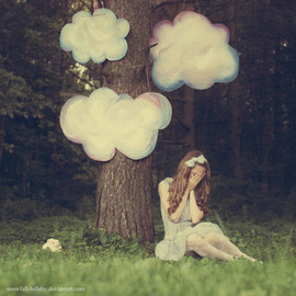 * - coz of cloud