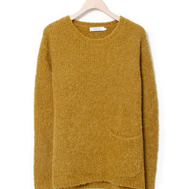 nonnative - LOGGER SWEATER - W/A MIX MOHAIR
