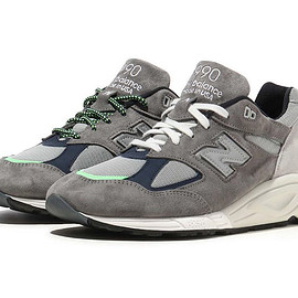 MADNESS, New Balance - M990MD2 - Grey/Fluorescence Green?