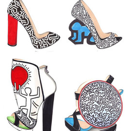 Keith Haring - Shoes