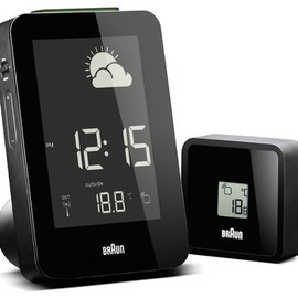 BRAUN - Braun BNC013 Weather Station modern clocks