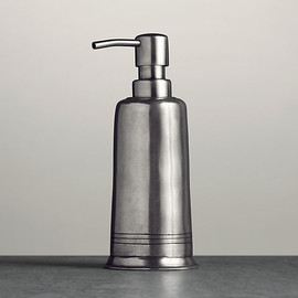 Restoration Hardware - Apothecary Pewter Accessories - Soap Dispenser