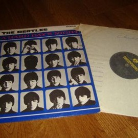 The Beatles - A Hard Day's Night (Record: Parlophone PMC 1230 U.K.orig.)