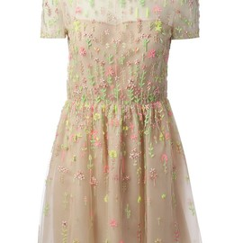 VALENTINO - bead embellished dress