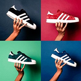 adidas originals - SUPERSTAR 80s DLX SUEDE