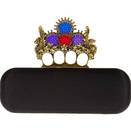 Alexander McQueen - Knucklebox clutch