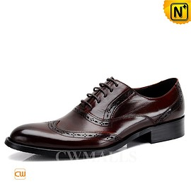 CWMALLS - CWMALLS® Mens Leather Wingtip Oxfords CW716228