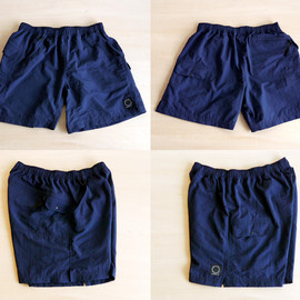 山と道 - 5-POCKETS SHORTS (NAVY)