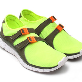 Nike - Free Sock Racer - Neon/Orange/Black/White?
