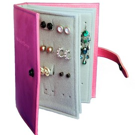 Not a Jewellery Box - the little book of earrings and travel size