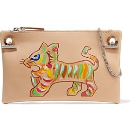 The Row - Happy Hour 7 painted leather shoulder bag